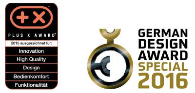 Gelenkarmmarkise Aeria - Awards