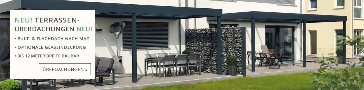 Terrassenüberdachungen von Systemdach