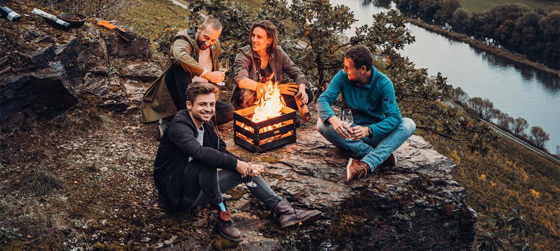 Crate Feuerkorb