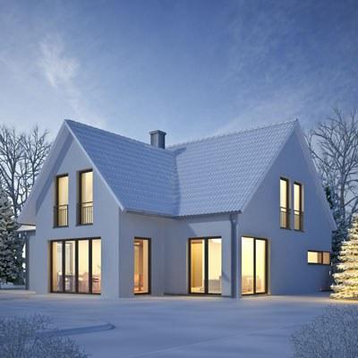 Winterlicher Wärmeschutz mit Sonnenschutzanlagen