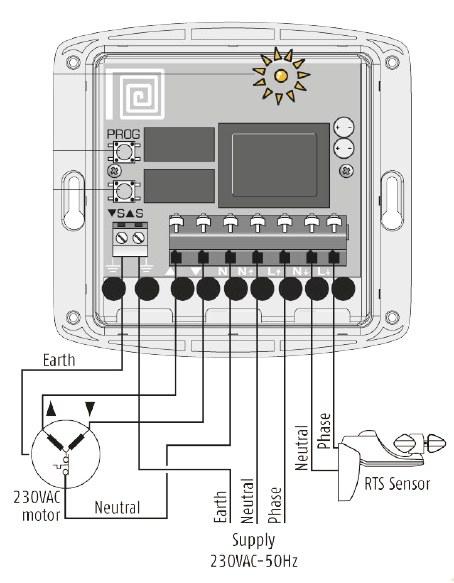 Funkempfänger Universal Receiver RTS Schaltplan