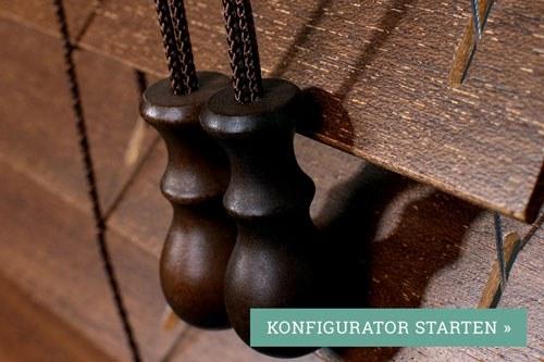 Topdeal Holzjalousien - Günstige Holzjalousie mit 50mm Lamellen