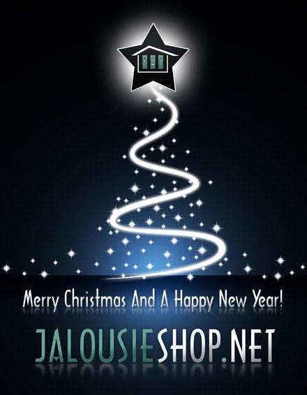 Jalousieshop.net wünscht frohe Weihnachten