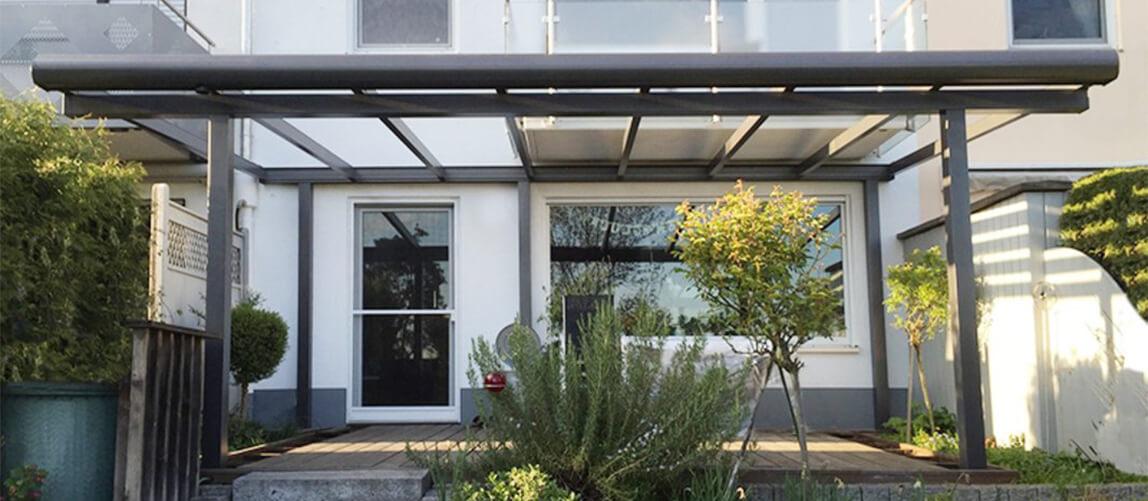 Terrassenüberdachung Classic Line von Systemdach