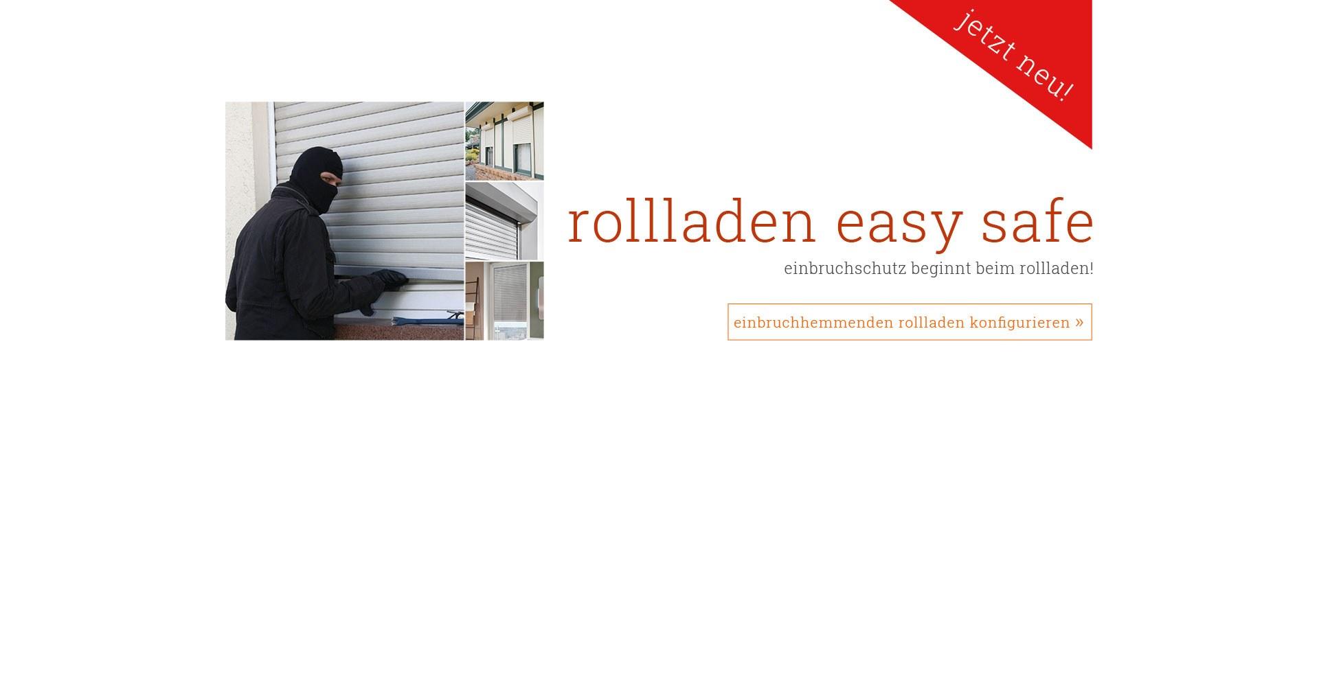 Einbruchhemmender Rollladen Easy Safe