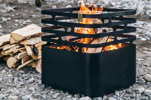 Feuerkorb CUBE schwarz von höfats
