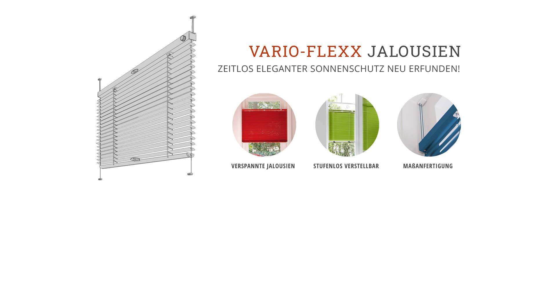 Flexible Jalousien mit der Vario-Flexx