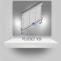 Plissee VS1 mit Klemmträgern