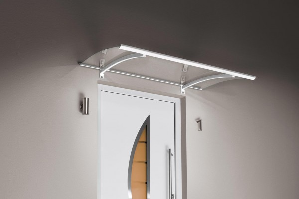 Pultdach mit LED-Technik