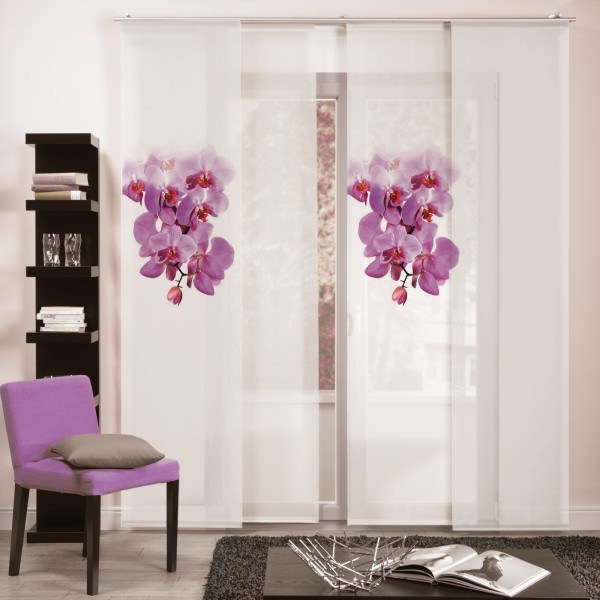 """Flächenvorhang Paneel """"Orchid"""""""