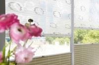 Plissee Rollo für Senkrechtfenster