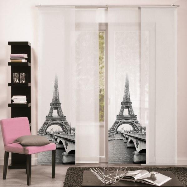 """Flächenvorhang Paneel """"Eiffelturm"""""""